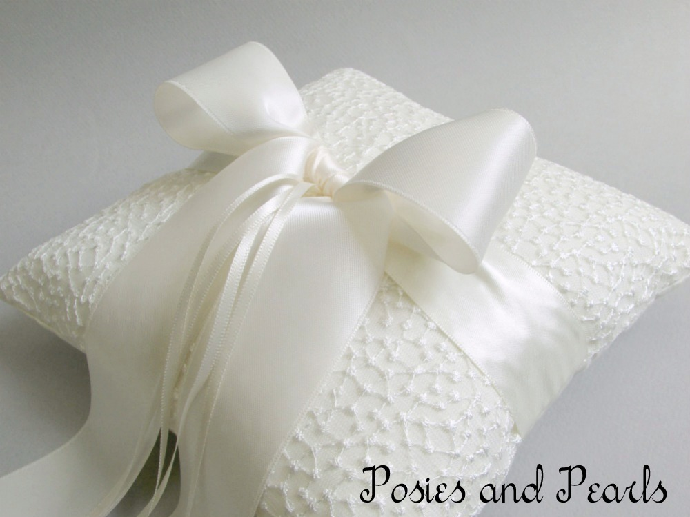 Britany Ring Bearer Pillow