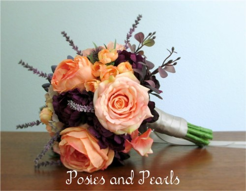 Enchanting Bridal Bouquet + Groom's Boutonniere