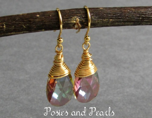 Glow Earrings (Purple Haze)