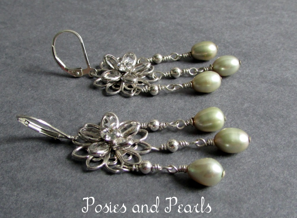 Perfection Earrings (Sage Green)