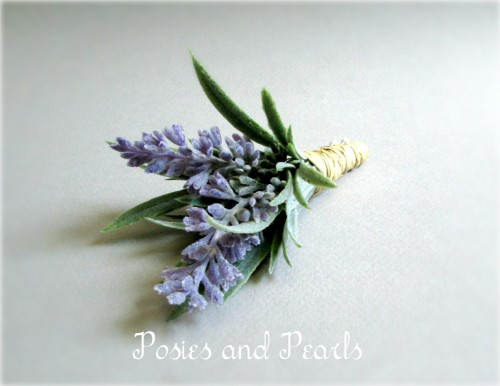 Provence Boutonnieres