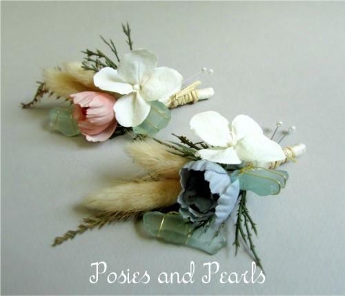 Seaside Boutonniere