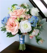 Abundance Bridal Bouquet and Boutonniere