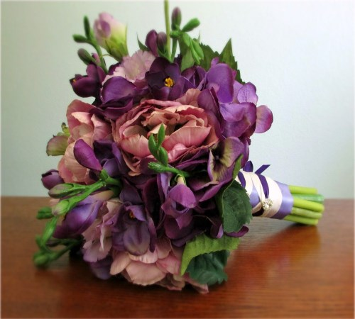 Adoration Wedding Bouquet and Boutonniere