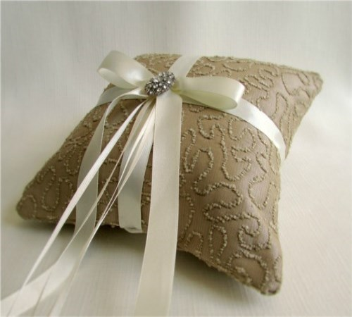 Divine Ring Bearer Pillow