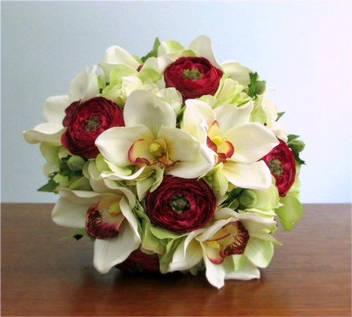 Enamored Wedding Bouquet and Boutonniere