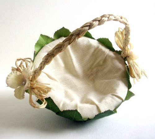 Naturale Flower Girl Basket