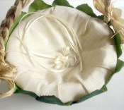 Naturale Flower Girl Basket (Made Per Order)