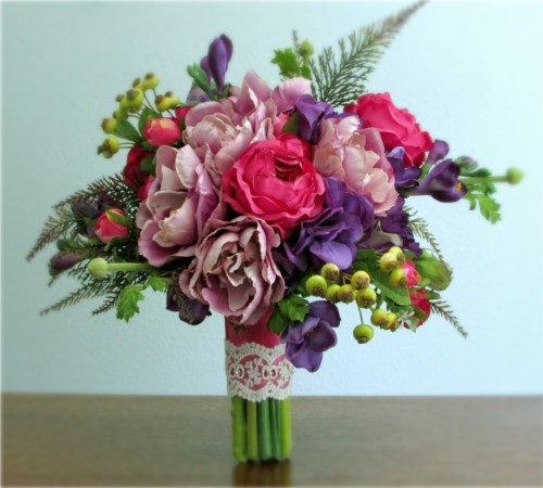 Radiance Bridal Bouquet + Boutonniere