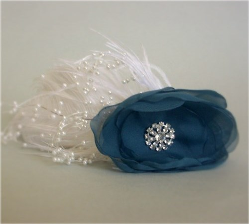 Royal Flair Fascinator Headband