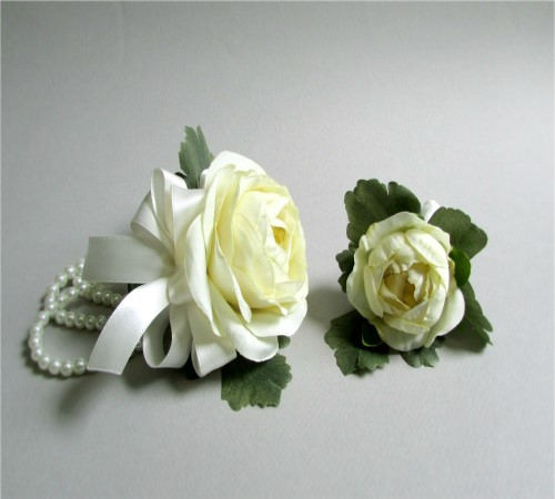 Sublime Corsage and Boutonniere Set