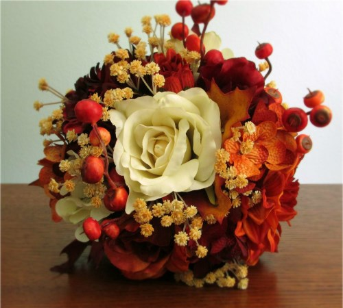 Sundance Wedding Bouquet + Boutonniere