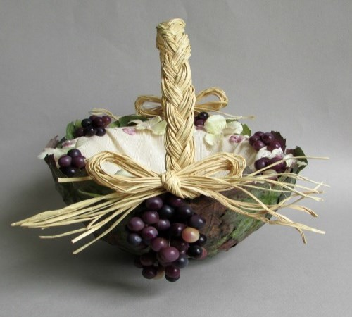 Tuscany Flower Girl Basket